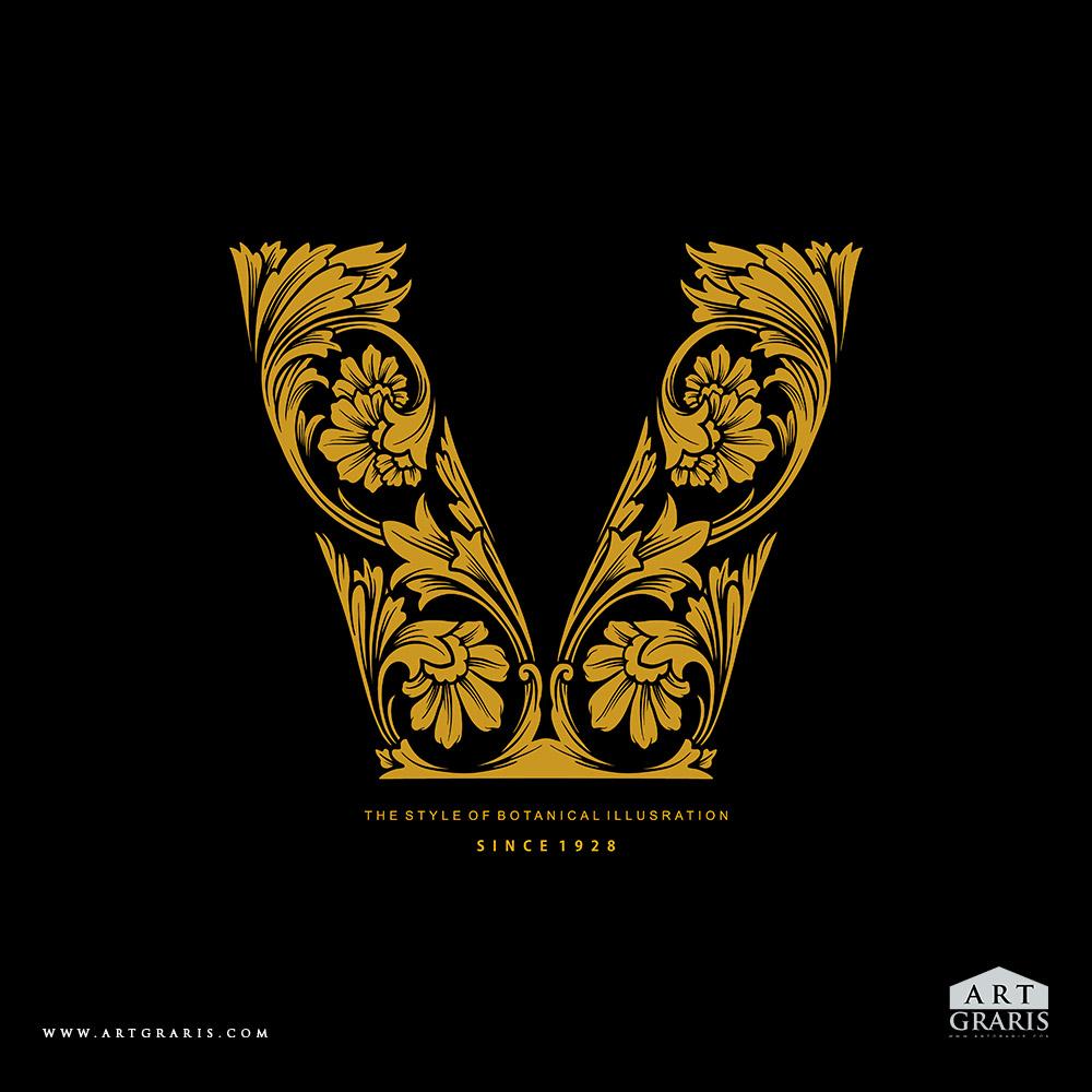 Logo Botanical Ornaments V Illustrations